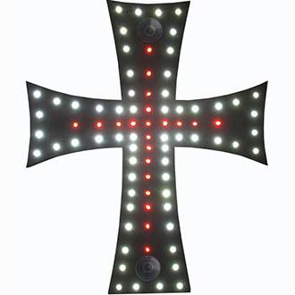 Decoration Interieure Croix 88 Leds 24 V La Boutique De La Route
